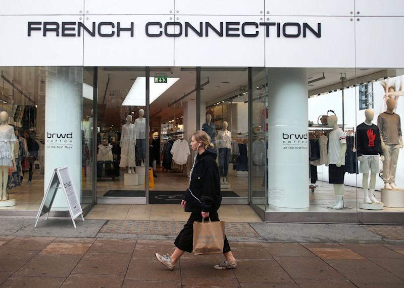 A French Connection store on Oxford Street in London