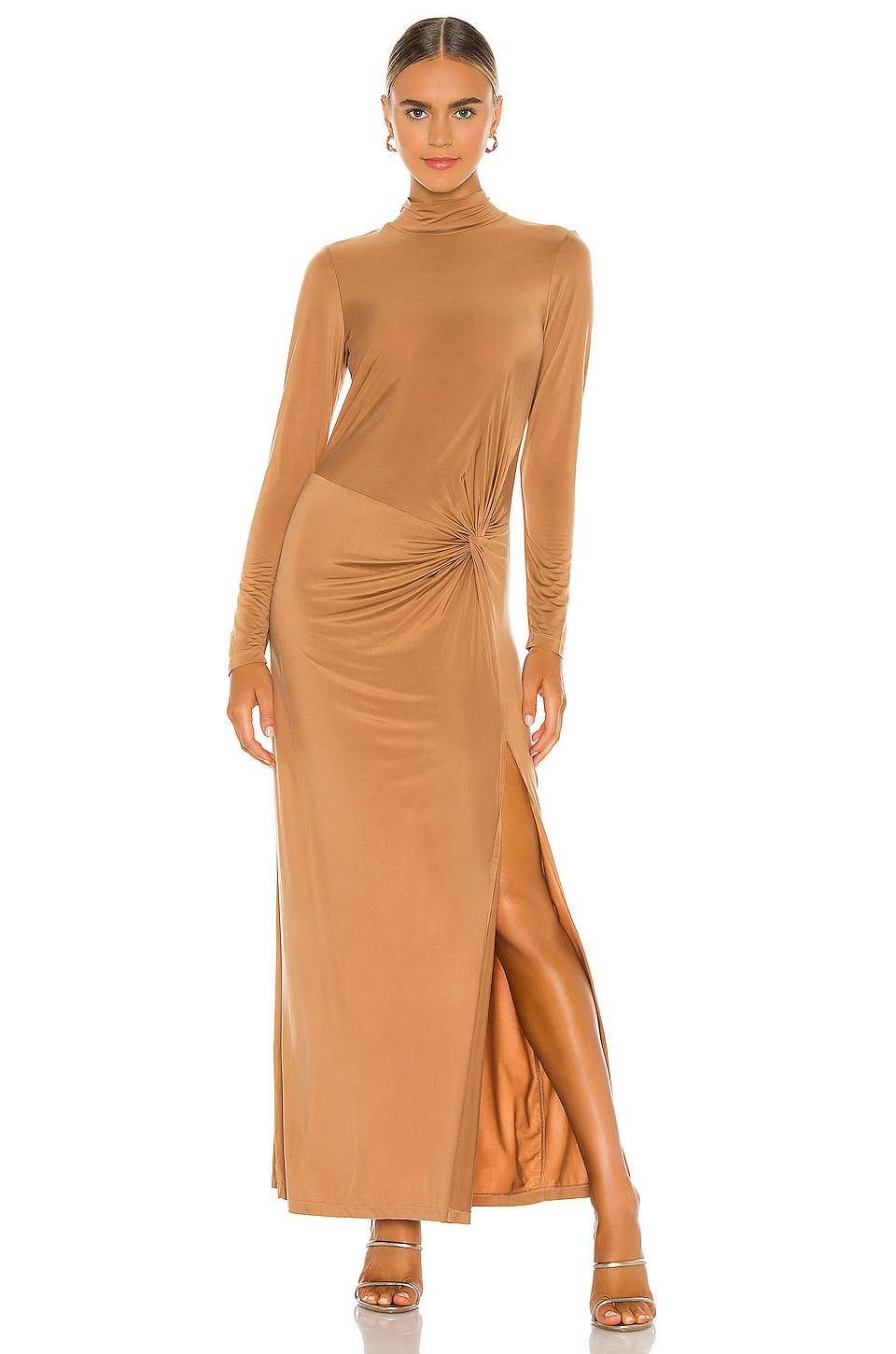 <p>No doubt, you'll turn heads in this <span>Young, Fabulous & Broke Madison Dress</span> ($233)!</p>