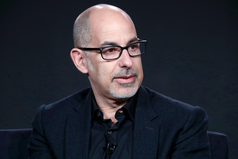 David S. Goyer of 'Krypton' on Syfy speaks onstage during the NBCUniversal portion of the 2018 Winter Television Critics Association Press Tour. (Photo by Frederick M. Brown/Getty Images)