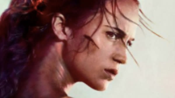 Our first look at Alicia Vikander in the role of Lara Croft, Tomb Raider, is here.