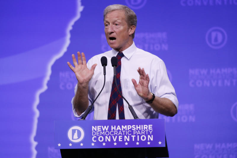Tom Steyer qualifies for October debate