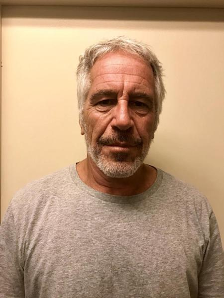 An undated handout photo made available by New York State Division of Criminal Justice showing Jeffrey Epstein, issued 25 July 2019 (reissued 10 August 2019). EFE/EPA/New York State Division of Criminal Justice