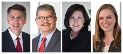 Crowell & Moring and Brinks Gilson & Lione to Join Forces (Pictured from left to right: Phil Inglima, Gus Siller, Cheryl Falvey, Laura Lydigsen)
