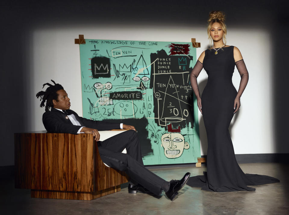 Jay-Z and Beyoncé in the new Tiffany campaign. - Credit: Courtesy Photo/Mason Poole for Tiffany & Co.