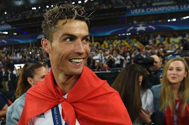 Cristiano Ronaldo claimed his fifth Champions League winner's medal on Saturday (AFP Photo/Paul ELLIS)