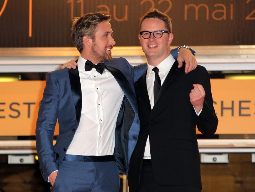 """<a href=""""http://movies.yahoo.com/movie/contributor/1804035474"""">Ryan Gosling</a> and <a href=""""http://movies.yahoo.com/movie/contributor/1800024125"""">Nicolas Winding</a> attend the 64th Annual Cannes Film Festival premiere of """"Drive"""" on May 20, 2011."""
