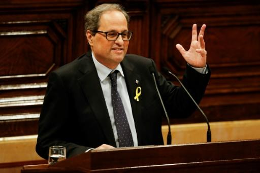 Hardline nationalist Quim Torra is set to take over the regional presidency of breakaway Catalonia, but analysts have warned of trouble ahead