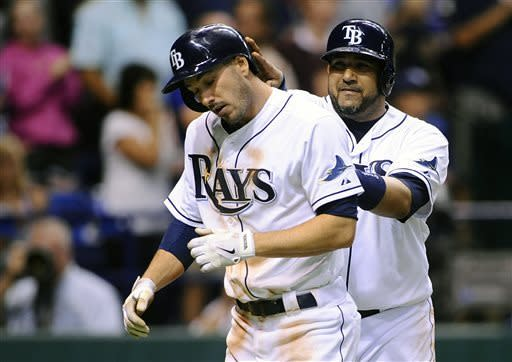 Joyce homers to help Rays beat Red Sox, Lester 8-3