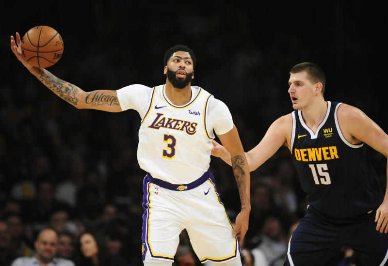 Anthony Davis dominated the one-on-one matchup with Nikola Jokic during the regular season. (Gary A. Vasquez-USA TODAY Sports)