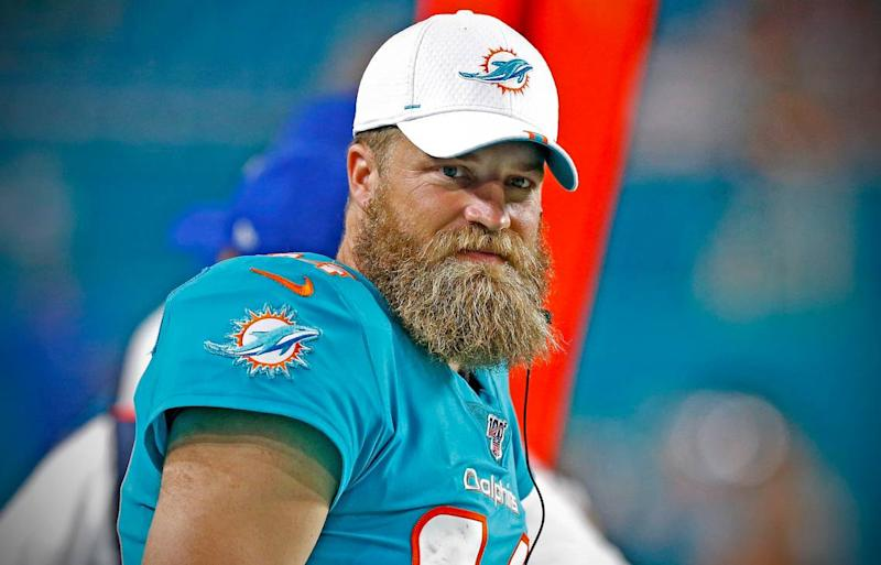 Is the Miami Dolphins' quarterback battle basically decided with three weeks to go?