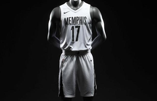 The Memphis Grizzlies' MLK50 jerseys. (Image via Memphis Grizzlies)