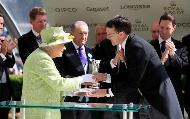 Royal Ascot is a highlight for the Queen. (Getty Images)