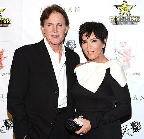 Bruce Jenner Given Award by Kris Jenner: Talks Split, Explains Ponytail