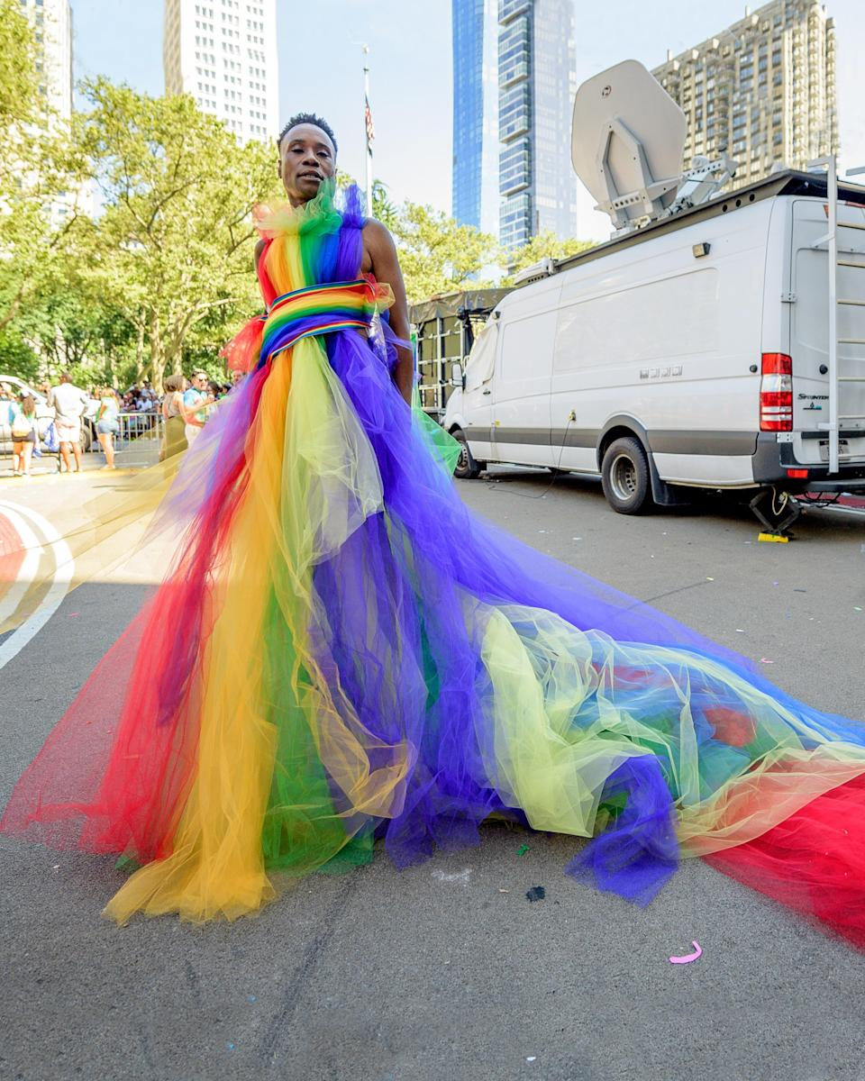 """<h1 class=""""title"""">July 1: Billy Porter</h1> <div class=""""caption""""> Billy Porter closes out Pride Month with a massive #BigFitoftheDay. </div> <cite class=""""credit"""">Getty Images</cite>"""