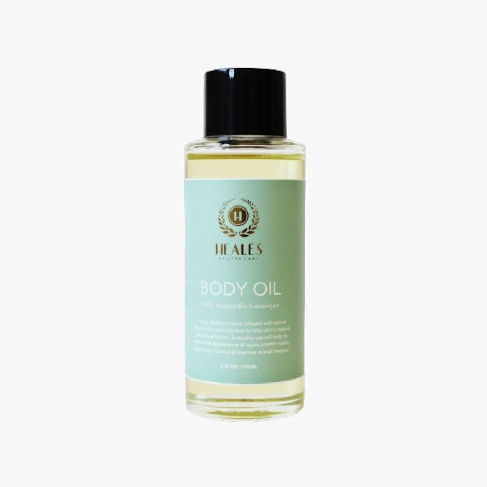 """Give yourself some extra TLC this fall with Heales Apothecary's body oil that will keep skin feeling nourished and moisturized. $48, HEALES APOTHECARY. <a href=""""https://healesapothecary.com/collections/body/products/body-oil"""" rel=""""nofollow noopener"""" target=""""_blank"""" data-ylk=""""slk:Get it now!"""" class=""""link rapid-noclick-resp"""">Get it now!</a>"""