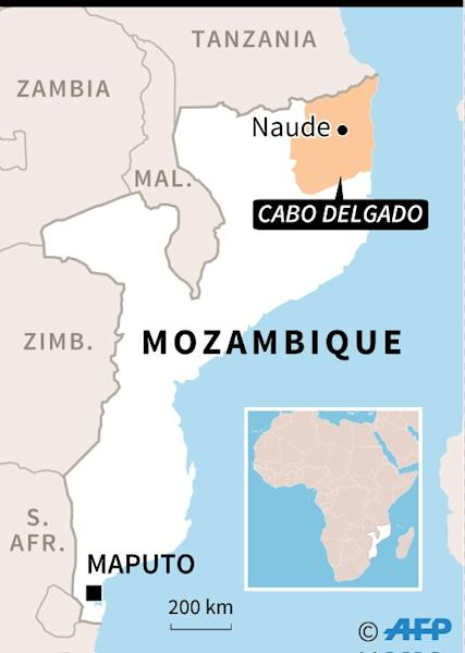 The trial of 189 suspected Islamic militants opened in a tent serving as an improvised courthouse inside a jail in Pemba, the provincial capital of Cabo Delgado, where the accused were allegedly involved in attacks (AFP Photo/AFP)
