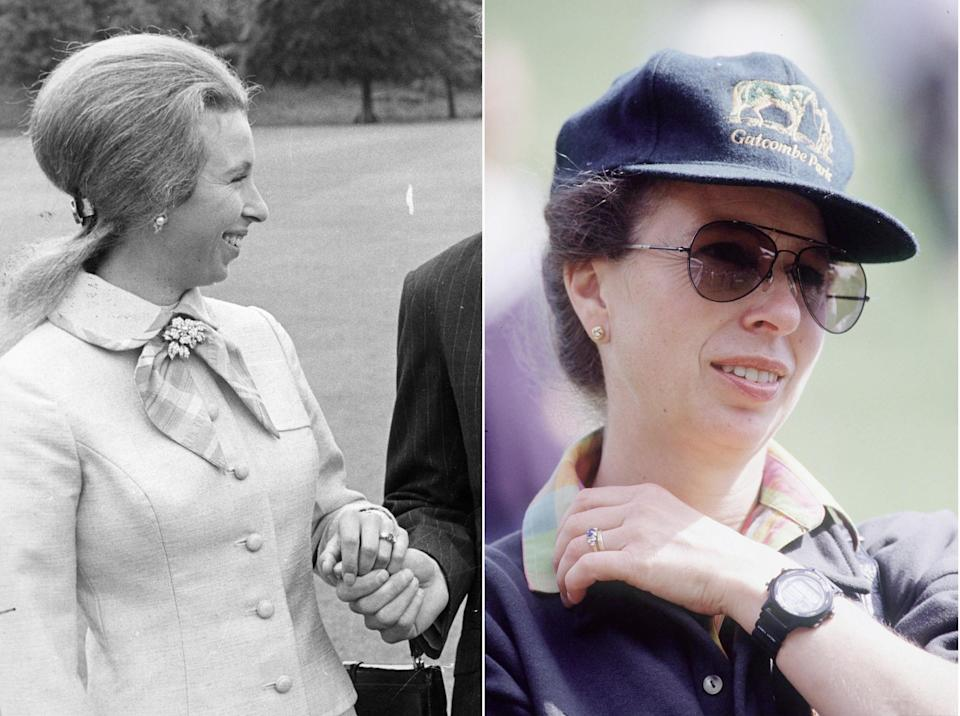 Princess Anne engagement rings - Tim Graham Photo Library via Getty Images)