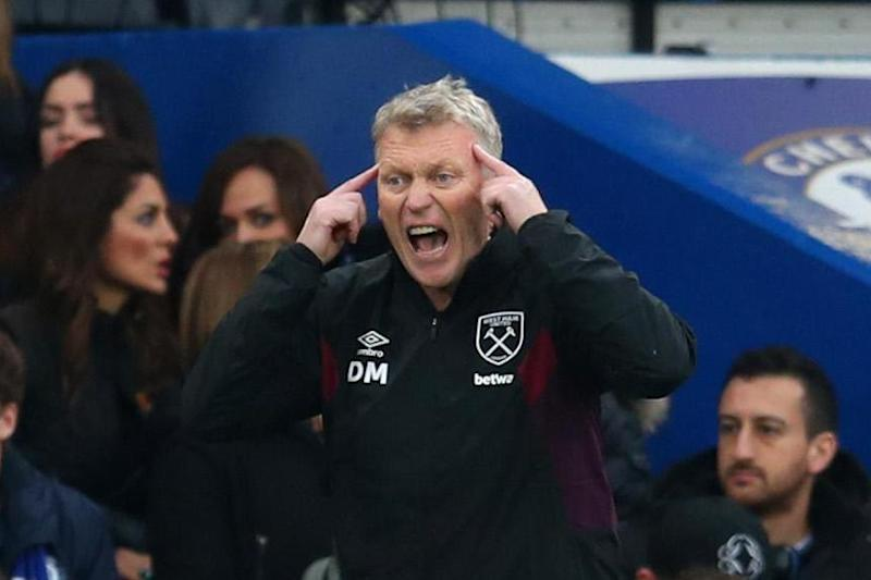Survival mission: Moyes is on course to keep West Ham in the Premier League (Getty Images)