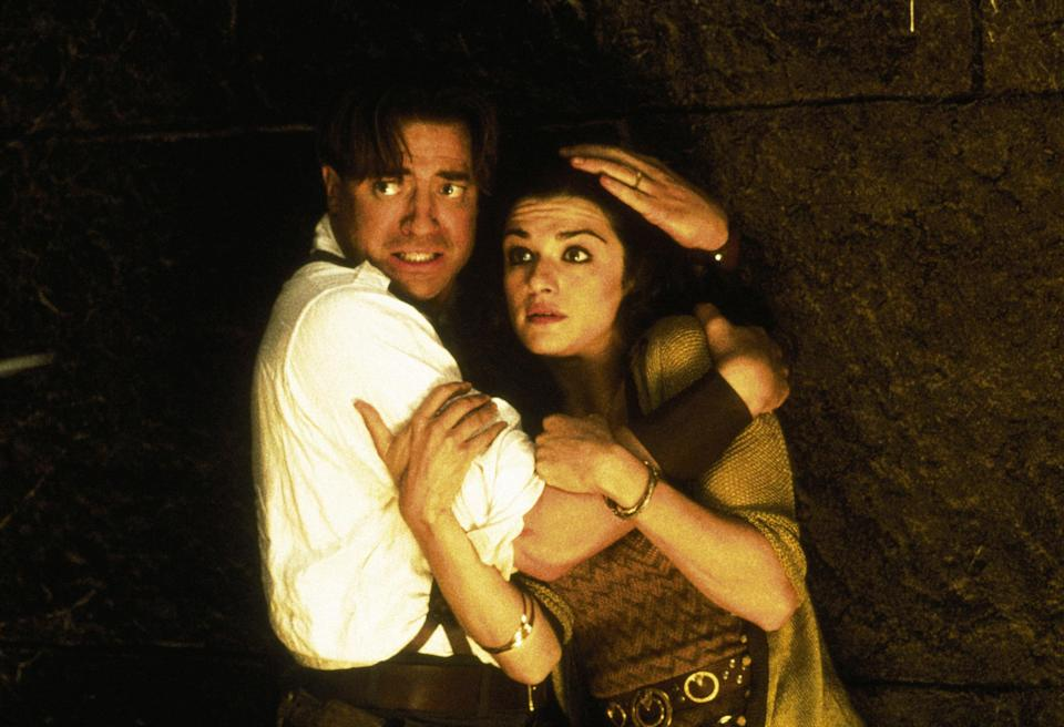 "<p>This sequel to 1999's <em>The Mummy</em> is often remembered as Dwayne ""The Rock"" Johnson's acting debut as the Scorpion King—but it also features an even bigger role and a lot more action for Rachel Weisz's character, Evelyn. We can't wait to see her back in a big action film when Marvel's <em>Black Widow</em> opens later in 2020. </p> <p><a href=""https://www.amazon.com/gp/video/detail/amzn1.dv.gti.10a9f7a7-9163-38a0-d1d7-989de901e181?autoplay=1"" rel=""nofollow noopener"" target=""_blank"" data-ylk=""slk:Available to rent on iTunes"" class=""link rapid-noclick-resp""><em>Available to rent on iTunes</em></a></p>"