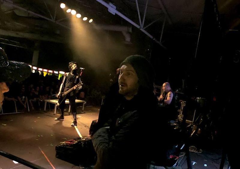 Edsel Dope Side Stage at Static-X show
