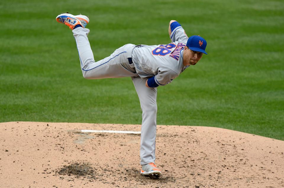 Jacob deGrom is one reason the Mets are looking strong for 2021. (Photo by G Fiume/Getty Images)
