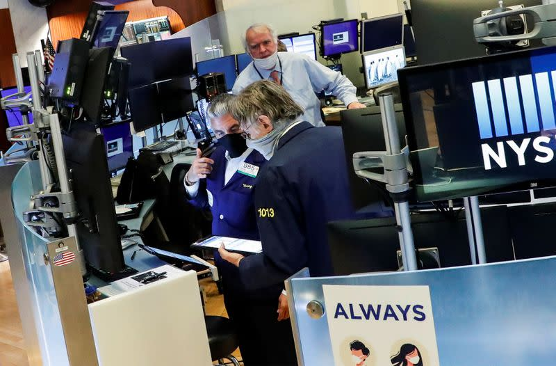 U.S. stocks to end year around current levels as virus takes toll: Reuters poll