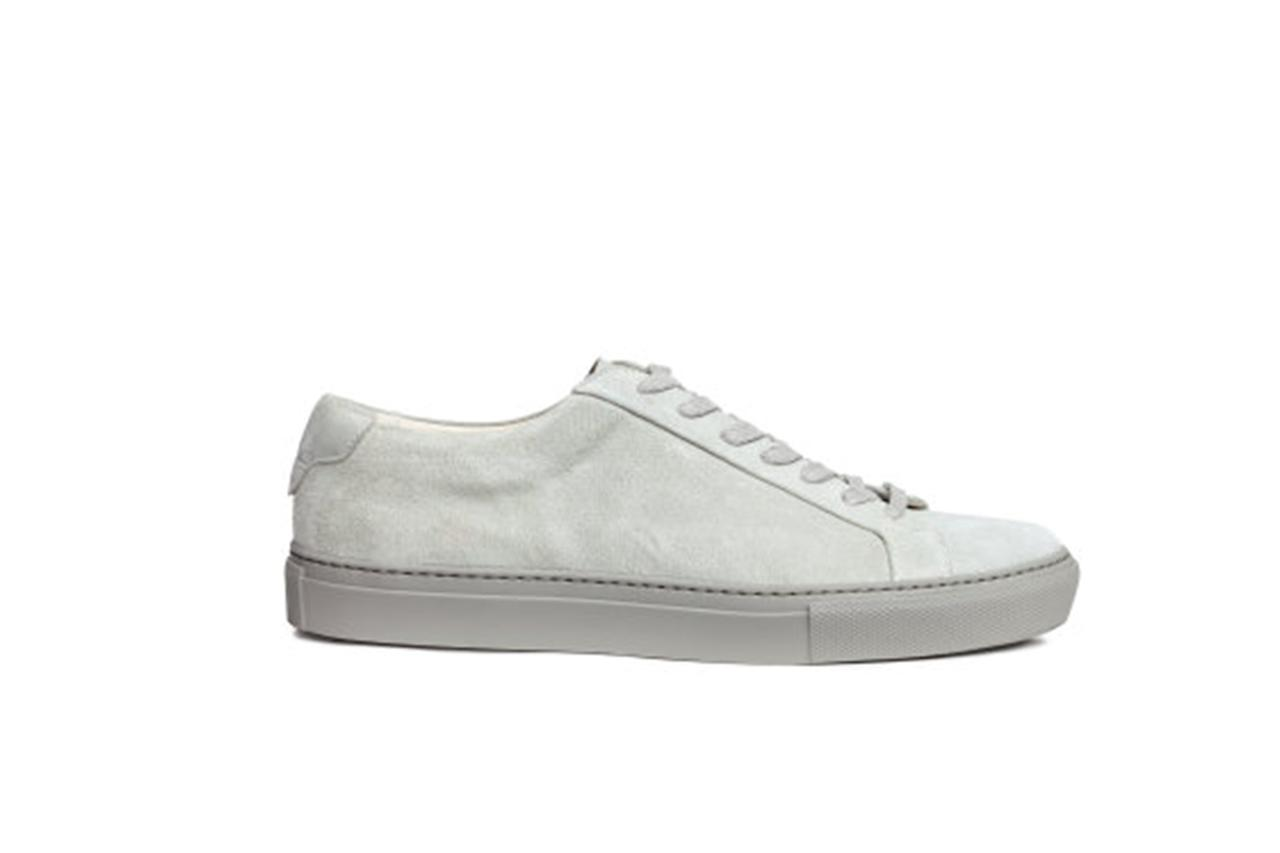 """<p>A dusty light gray kick that looks a lot like a certain other sneaker we swear by, just costs about ¼ as much. And when you're springing for suede kicks with a shorter life span, that's about how much you want to pay —Matt Sebra</p><p><em>$119, buy now at <a rel=""""nofollow"""" href=""""http://www.hm.com/us/product/66287?article=66287-B&cm_vc=SEARCH&mbid=synd_yahoostyle"""">hm.com</a></em></p>"""