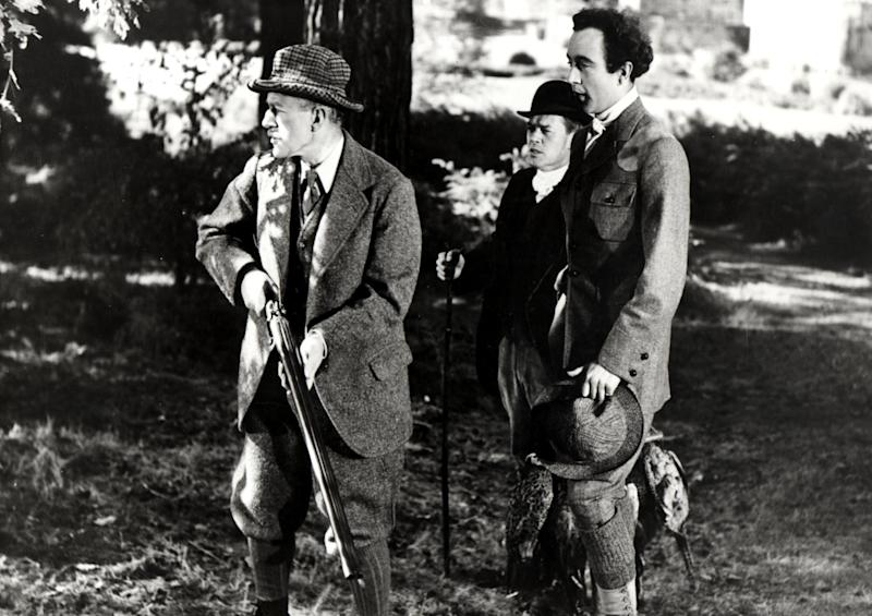 'Kind Hearts and Coronets' (1949) is often regarded as Guinness's greatest achievement on screen. He played multiple different members of the aristocratic D'Ascoyne familyRex Features