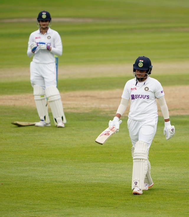 Teenager Shafali Verma struck an impressive 96 on debut, falling agonisingly short of a maiden Test century
