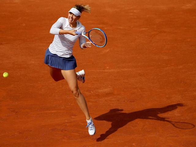 Sharapova's star power is especially valuable to the WTA in the absence of Williams (Getty )