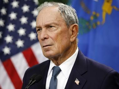 Michael Bloomberg formally announces bid for US presidency; New York billionaire joins crowded field of Democratic rivals