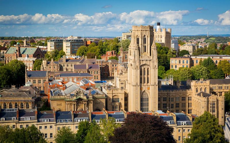 The name granted to the Wills Tower has come under question from students, who want to remove its link to founder Henry Overton Wills - www.Alamy.com