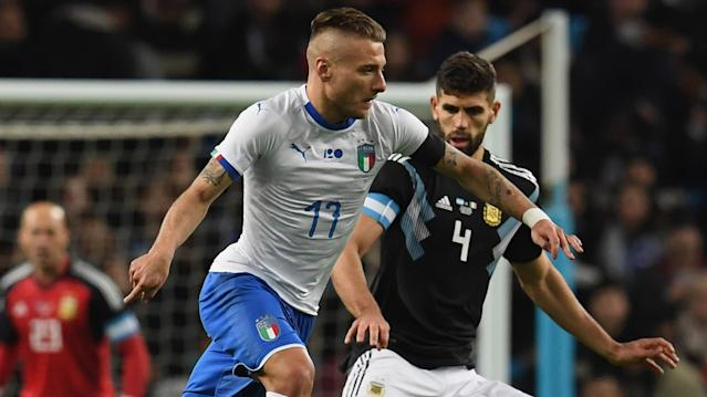 The midfielder says that the Azzurri should keep faith with their current forwards despite another defeat, this time at the hands of Argentina