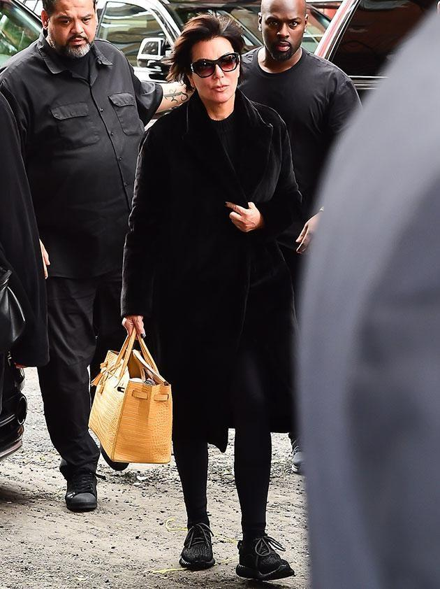 Kris Jenner joined Kim and Kanye. Source: Getty Images.