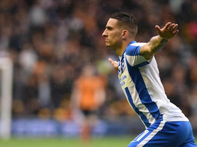 Brighton one game away from Premier League thanks to Anthony Knockaert double