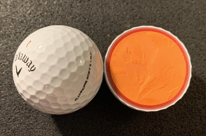 Callaway Chrome Soft X LS golf balls