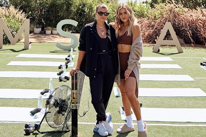 <p>Sofia Richie has a health day out at the Gymshark Retreat Event in Malibu to celebrate Whitney Simmons' third collaboration with the activewear brand.</p>