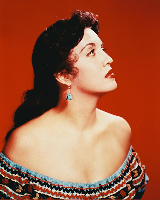 Katy Jurado. Foto: Silver Screen Collection/Getty Images