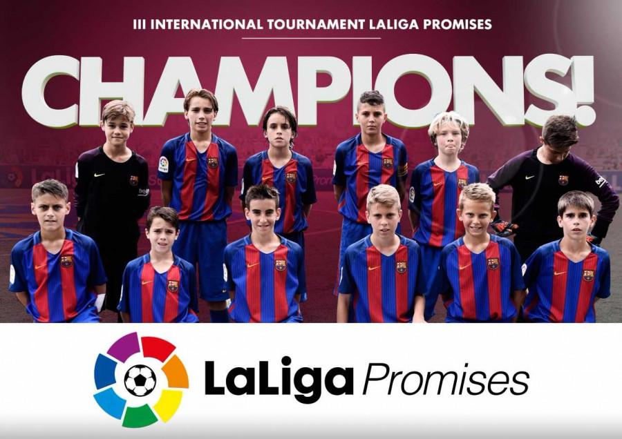 The Blaugrana edged out Los Blancos 3-2 in an exciting final in the Under-12s tournament in New Jersey to make it two titles in a week for La Masia