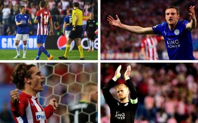 Leicester City may have left Vicente Calderón Stadium frustrated having lost to Atlético Madrid following a questionable decision from referee Jonas Eriksson, but they still stand a chance of reaching the European Cup semi-finals