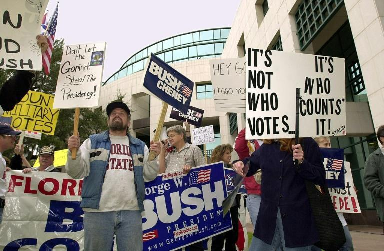 Florida's aborted 2000 recount of some 10,000 ballots could have handed the election to Democratic nominee Al Gore
