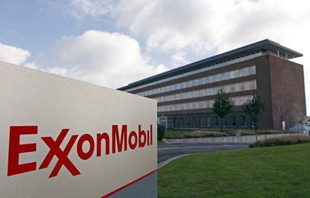 File photo of the Belgian headquarters of oil giant ExxonMobil, where Britain's Nicholas Mockford worked in Machelen