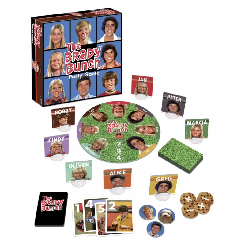 The Brady Bunch Party Game. (Photo: Target)