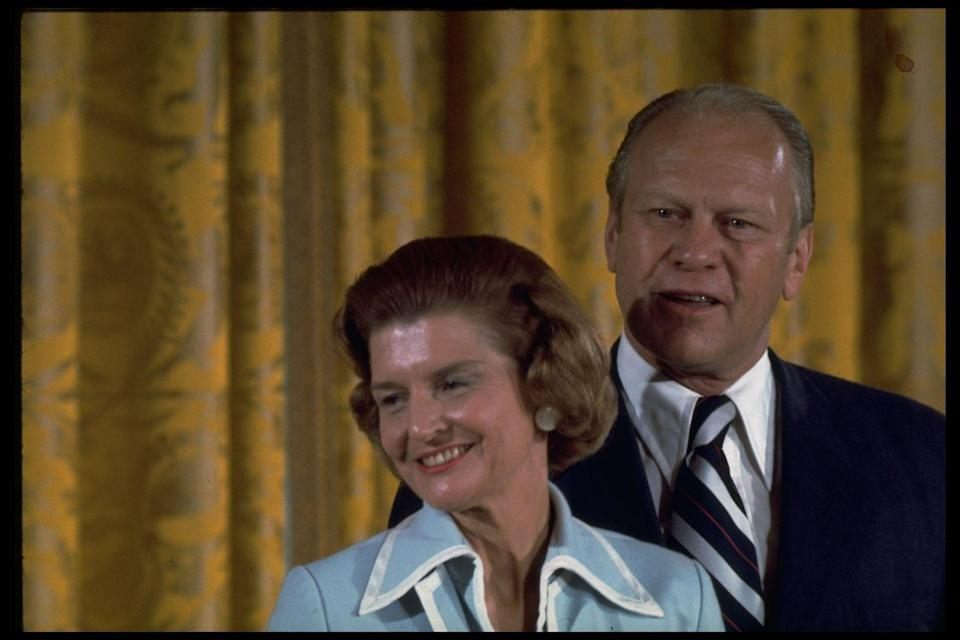 <p>President Gerald Ford was appointed Vice President in 1973 after the resignation of Vice President Spiro Agnew—and a year later he was appointed President after Richard Nixon's resignation due to the Watergate scandal. He was the only President to enter office without being elected and, due to the circumstances of his appointment, did not have an inaugural ball. </p>