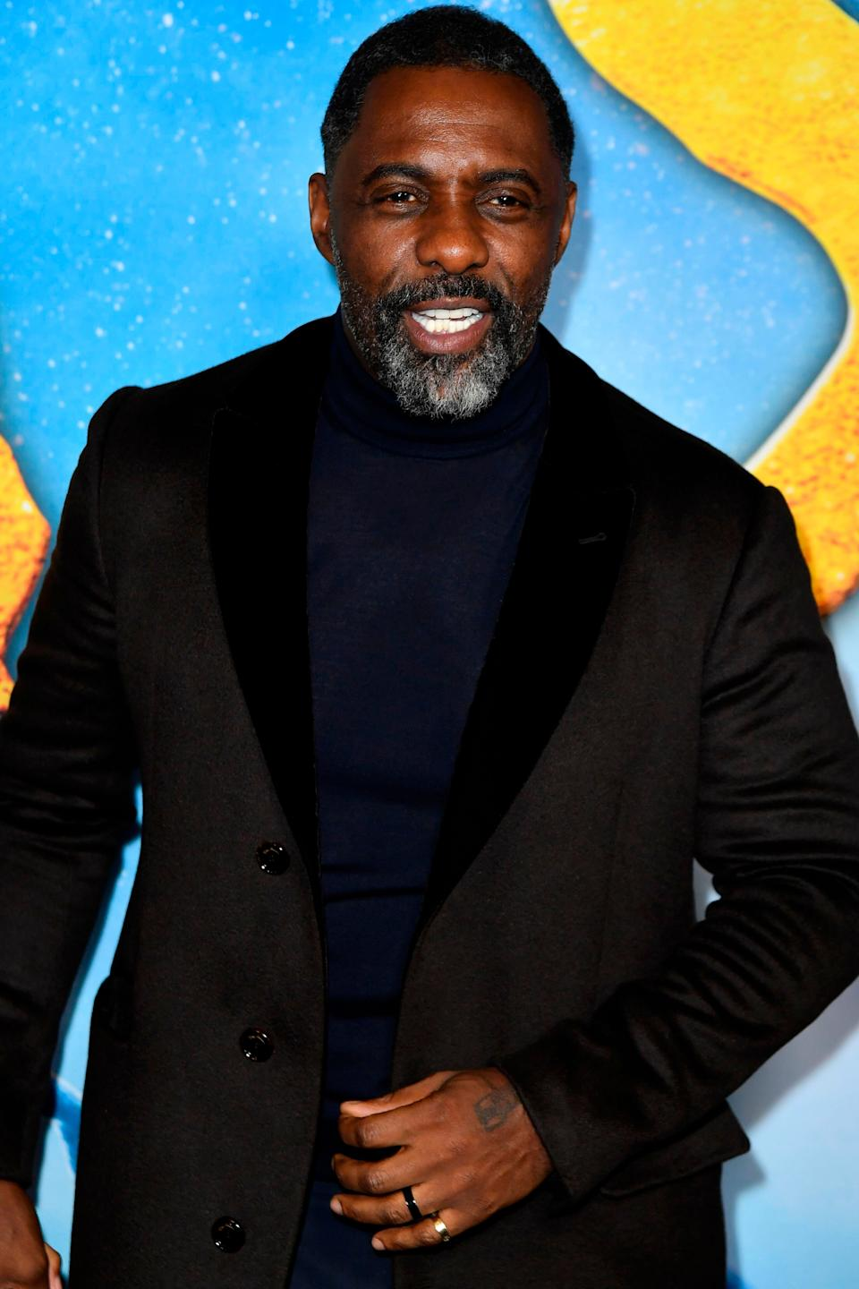 Idris at the Cats premiere last year (Photo: ANGELA WEISS via Getty Images)