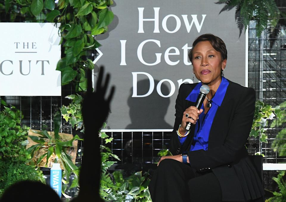 """Robin Roberts talked about her interview with Jussie Smollett at The Cut's """"How I Get It Done"""" event on Monday. (Photo: Getty Images)"""
