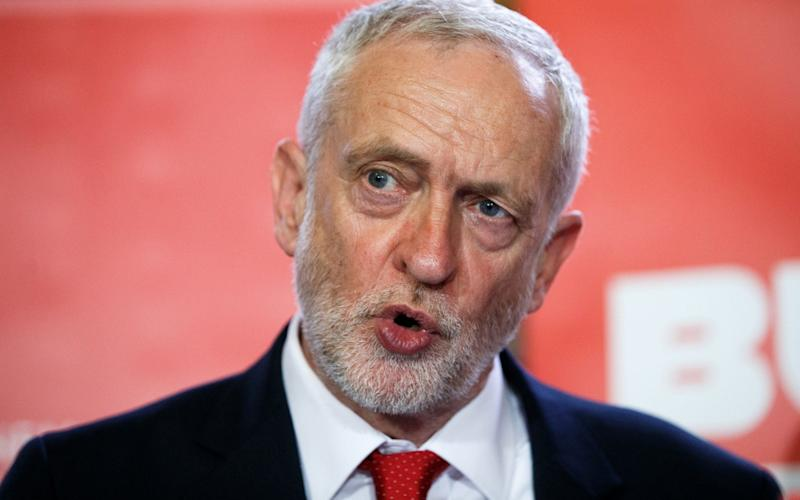 Jeremy Corbyn, the Labour leader - Getty Images Europe