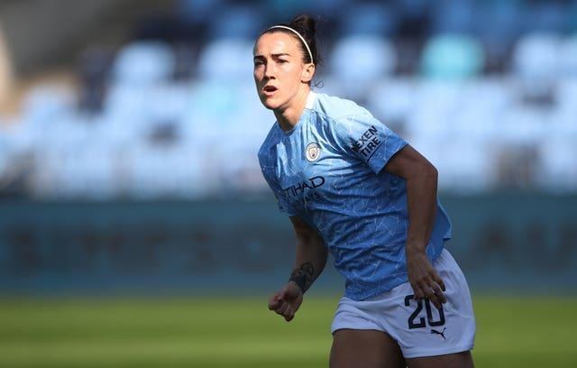 Lucy Bronze (pictured) and Houghton have not been involved in City's last two matches (Nick Potts/PA).