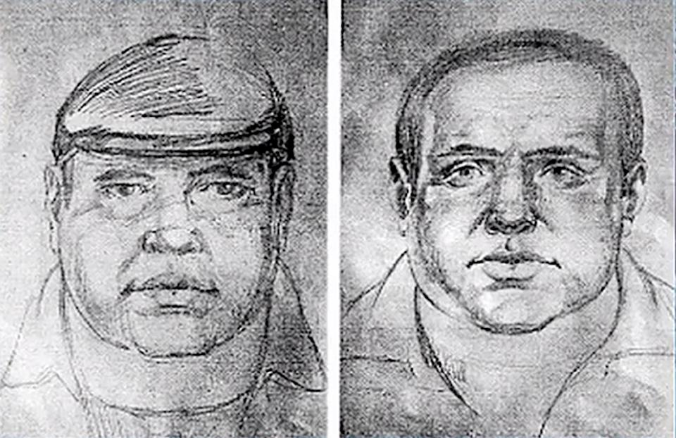 A police sketch of the killer. Source: East2West/Australscope