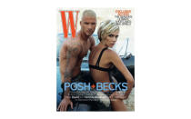 <p>Back in 2007, power couple David and Victoria Beckham looked unrecognisable on the cover of <em>W magazine</em>. While former footballer David posed topless, Victoria wore nothing but lingerie. <em>[Photo: W magazine]</em> </p>
